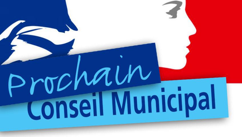 Réunion de conseil municipal le 03/12/2021